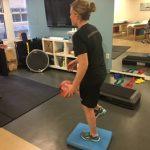 Janaye's Meniscal Transplant: Weight Bearing & Dynamic Balance Training!