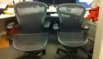 determining which office chair size is correct for you