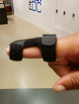 finger splint for mallet finger