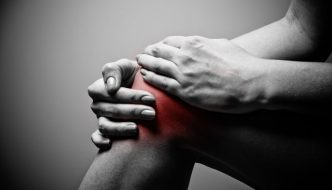 struggling with intense knee pain