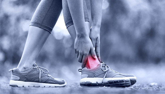experiencing ankle pain