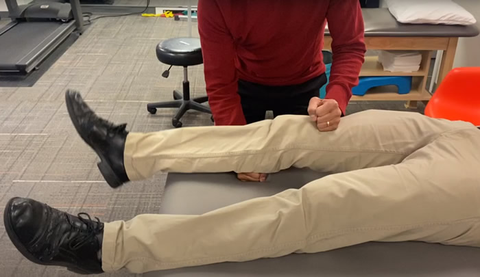 acl lever test demonstration
