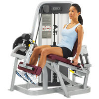 knee extension machine